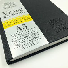 Winsor & Newton Visual Journal - Interleaved Tracing Paper