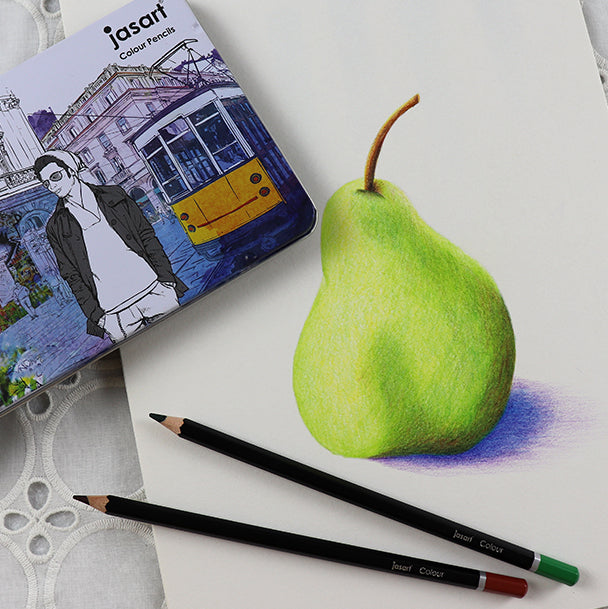 jasart coloured pencils for drawing and colouring.