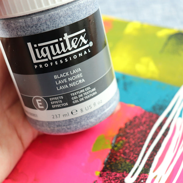 Liquitex Black Lava