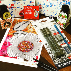 MARCH 19 Red's Art Cart -  Art Subscription Box