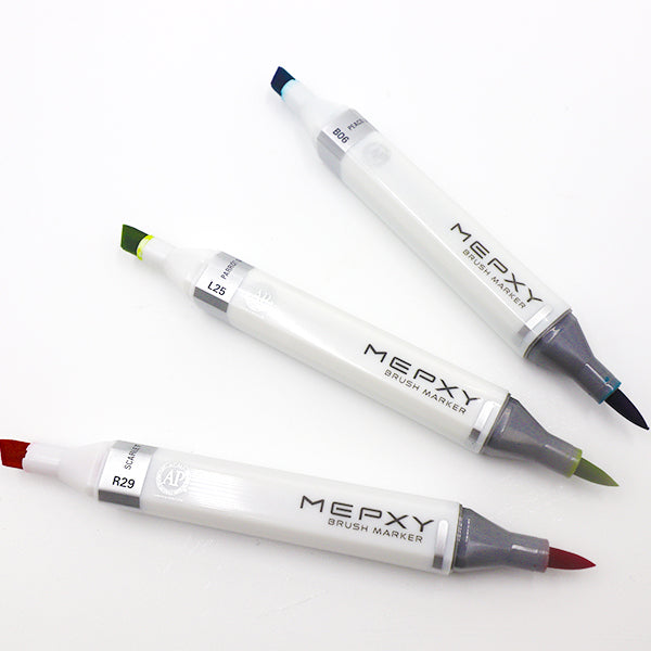 MEPXY Brush Markers - Warm Colours