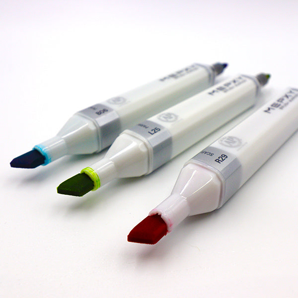 MEPXY Brush Markers - Colourless, Grays, Blacks