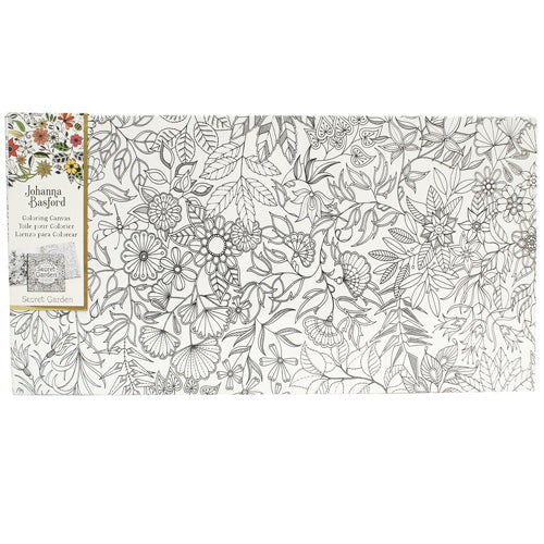 "Joanna Basford ""Secret Garden"" canvas gift set"