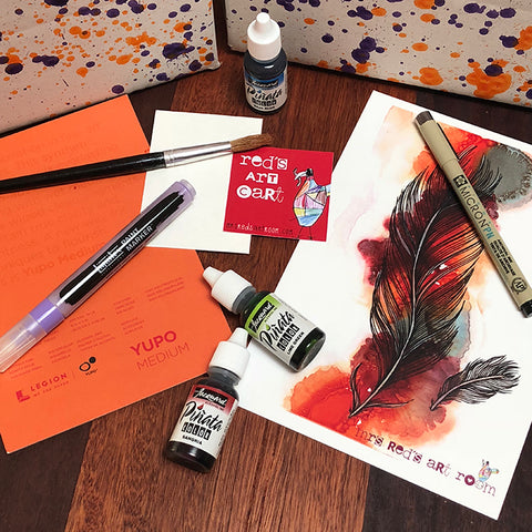 September 18 Red's Art Cart -  Art Subscription Box