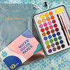 36 Colours | Watercolour Paint Tin Set | Mrs Red's