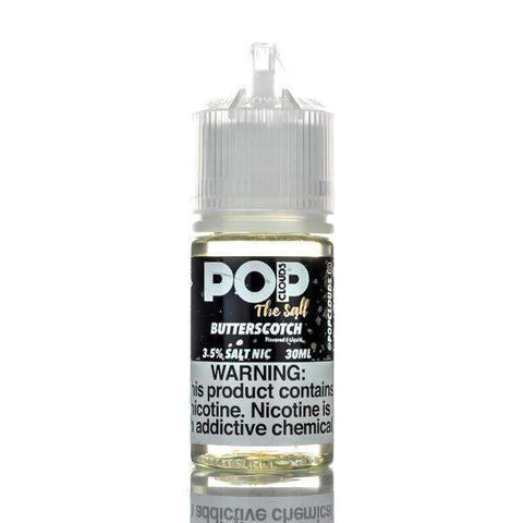 POP CLOUDS SALT NIC BUTTERSCOTCH