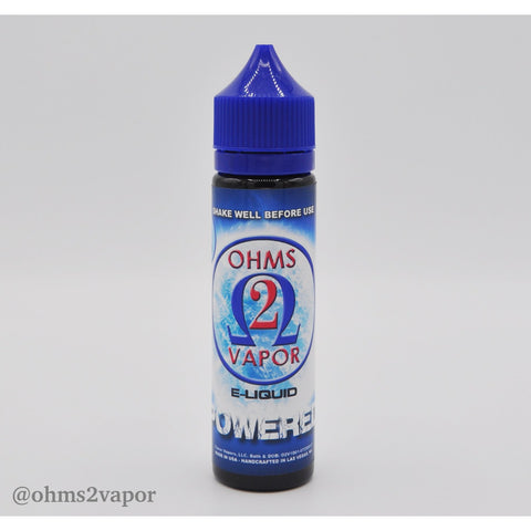 Ohms Premium E-Liquid Powered