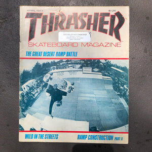 This is my first Thrasher. Bought...