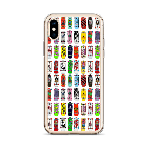 Mid 80s Skateboards iPhone Case