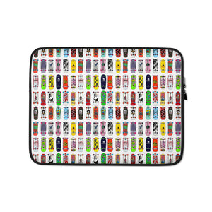 Mid 80s Skateboards Laptop Sleeve