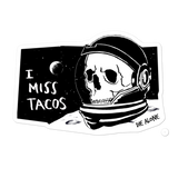 Die Alone TACOS sticker