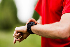 Polar Fitness Sport Watch - button