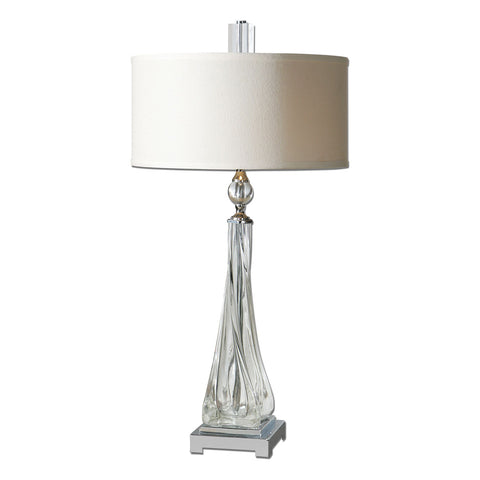 Grancona Twisted Glass Table Lamp