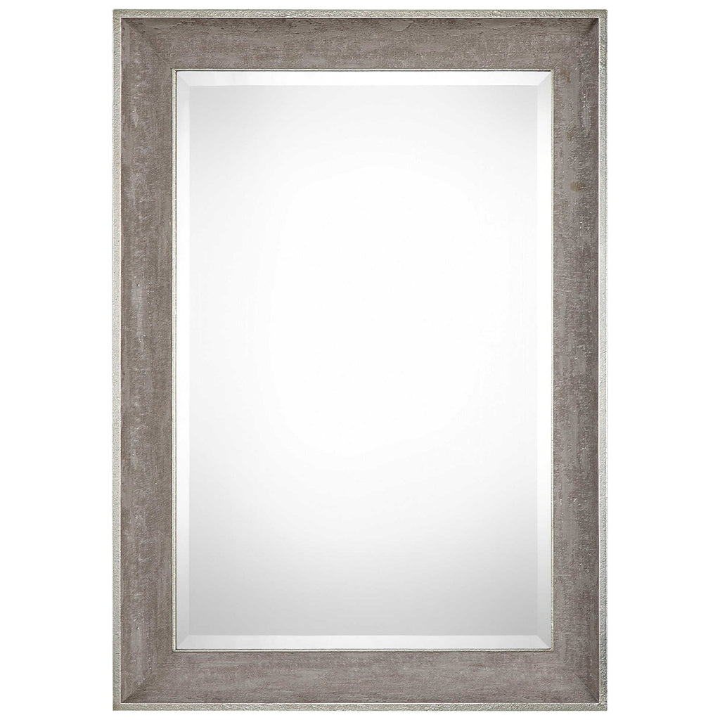 Corrado Textured Gray Mirror
