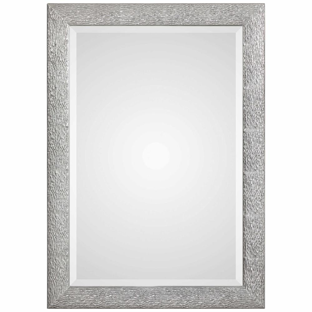 Mossley Metallic Silver Mirror