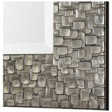 Kanuti Metallic Gray Mirror