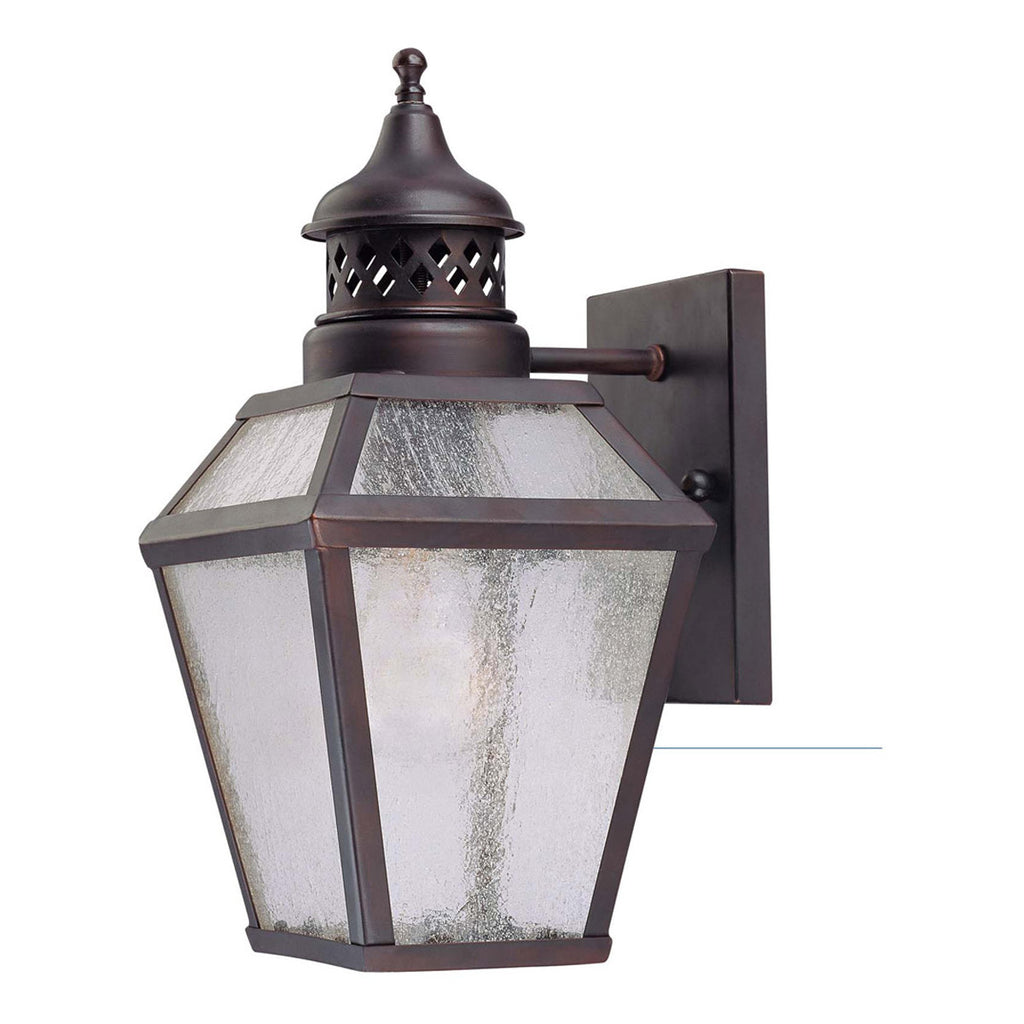 "Chiminea 6"" Steel Wall Mount Lantern"
