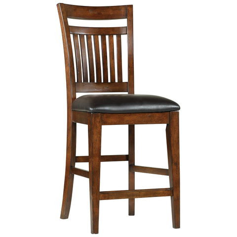 Wendover Counter Height Chair in Medium Wood