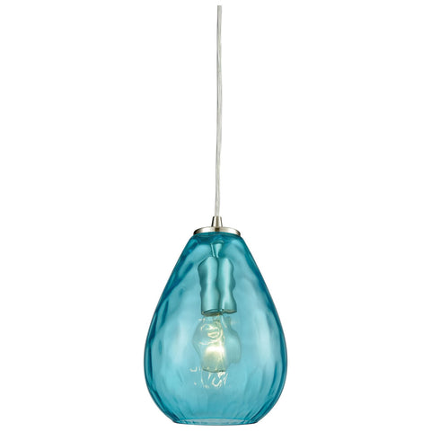 Lagoon 1-Light Pendant with Water Glass