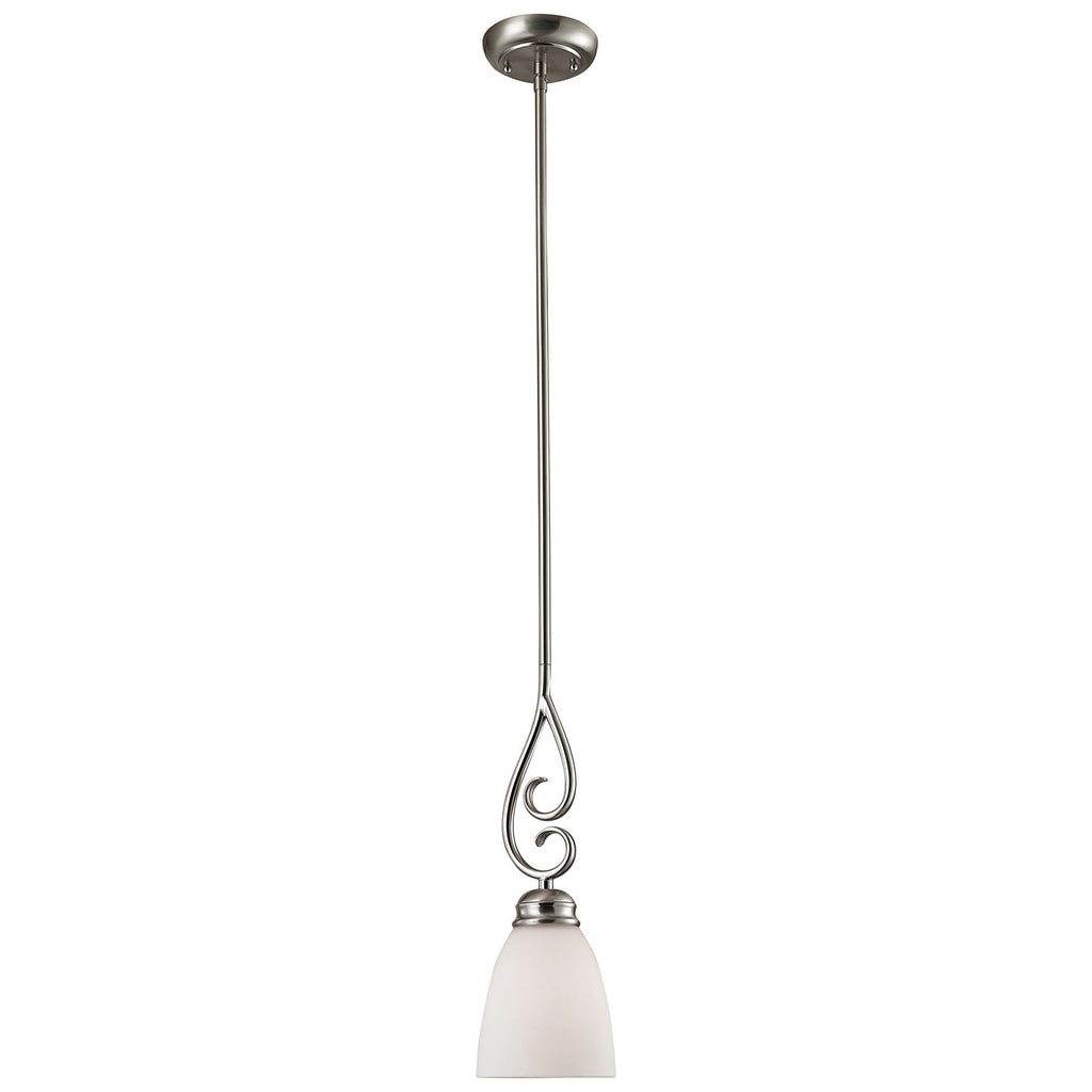Chatham 1-Light LED Pendant in Brushed Nickel