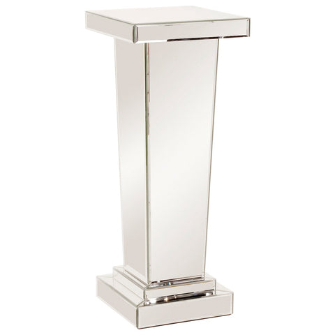 Carina Tapered Mirrored Pedestal