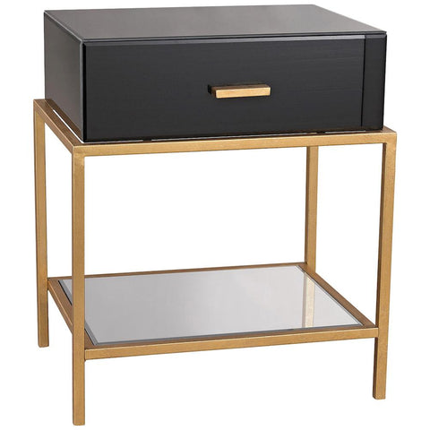 Evans Side Table in Black