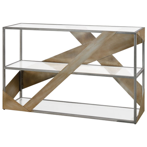 Straps Console Table