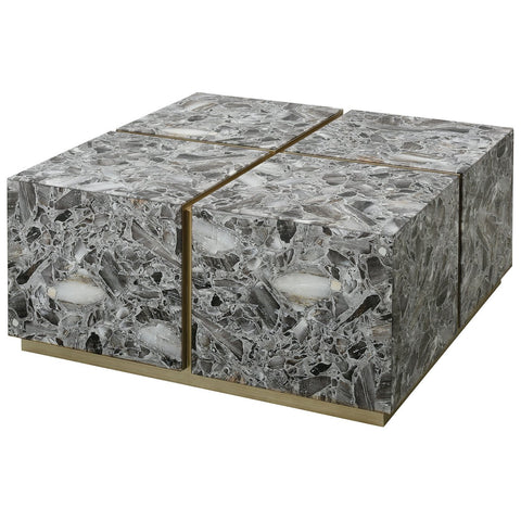 Crystalline Coffee Table - Square