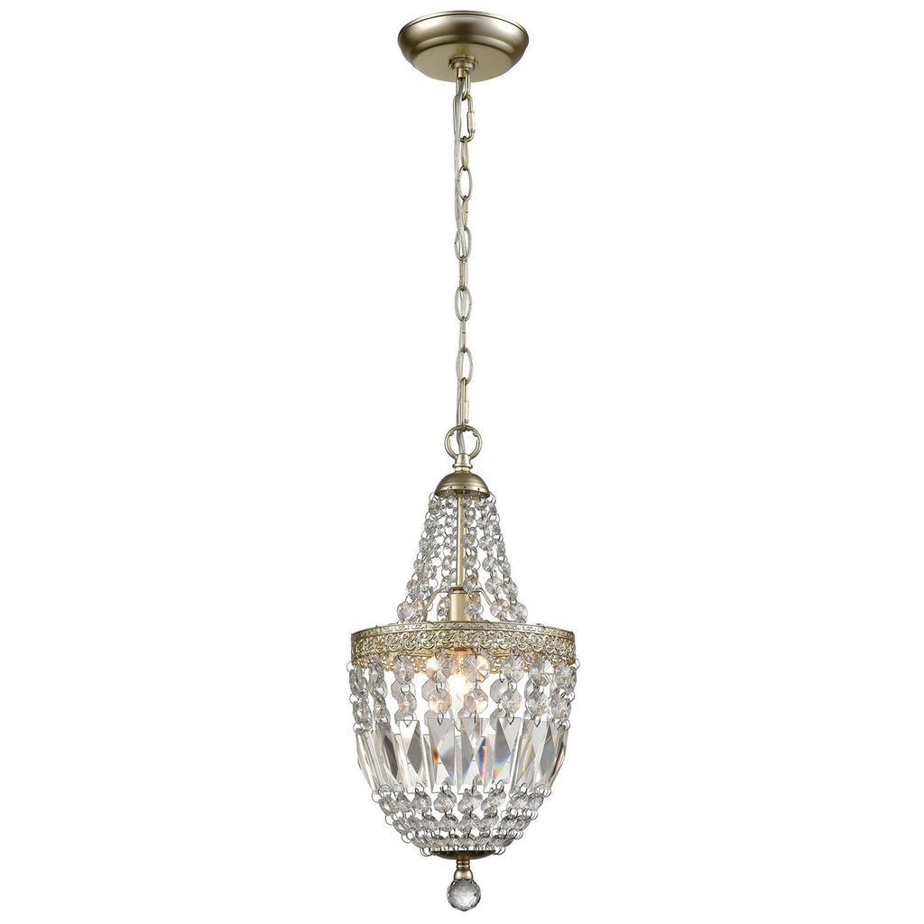 Morley 1-Light Mini Pendant in Champagne Gold