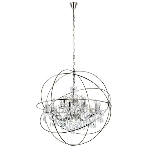 Geneva 18-Light Chandelier with Clear Royal Cut Crystal