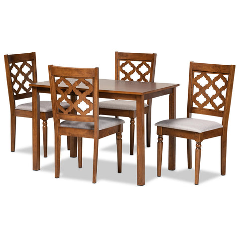 Baxton Studio Ramiro 5-Piece Dining Set