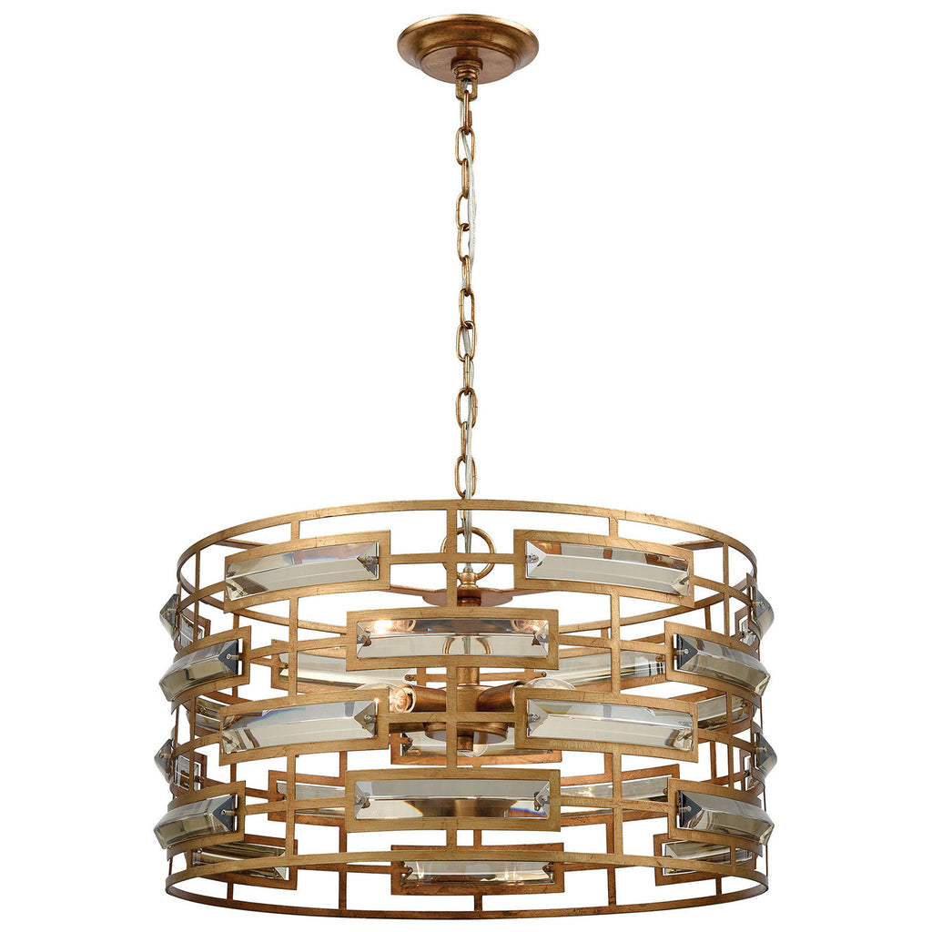 Metro Crystal Pendant Light in Clear Crystal