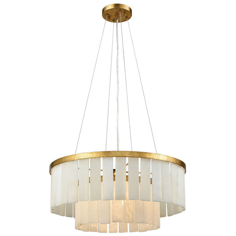 Orchestra Pendant Light in Gold Leaf