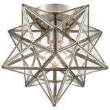 Moravian Star 1-Light Flush Mount