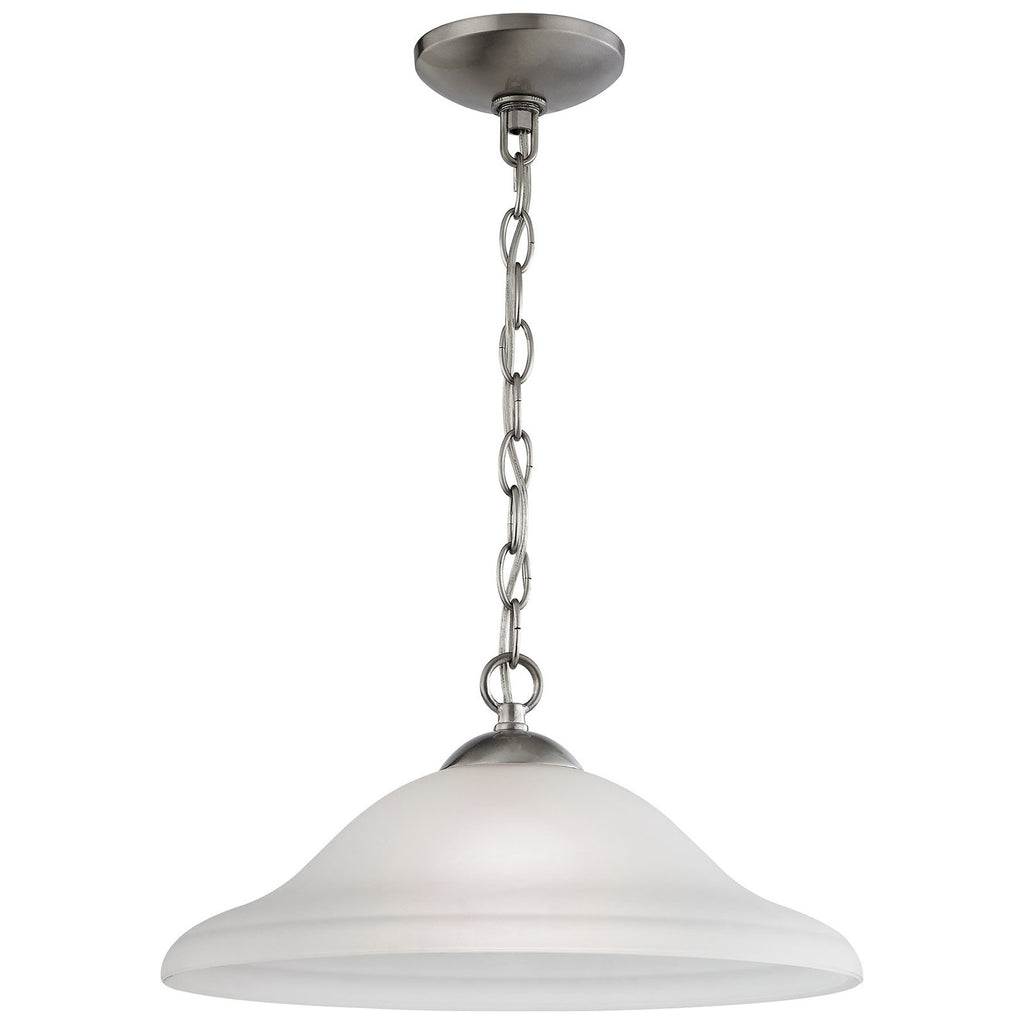 Conway 1-Light Pendant in Brushed Nickel