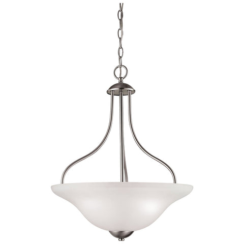 Conway 3-Light Pendant in Brushed Nickel