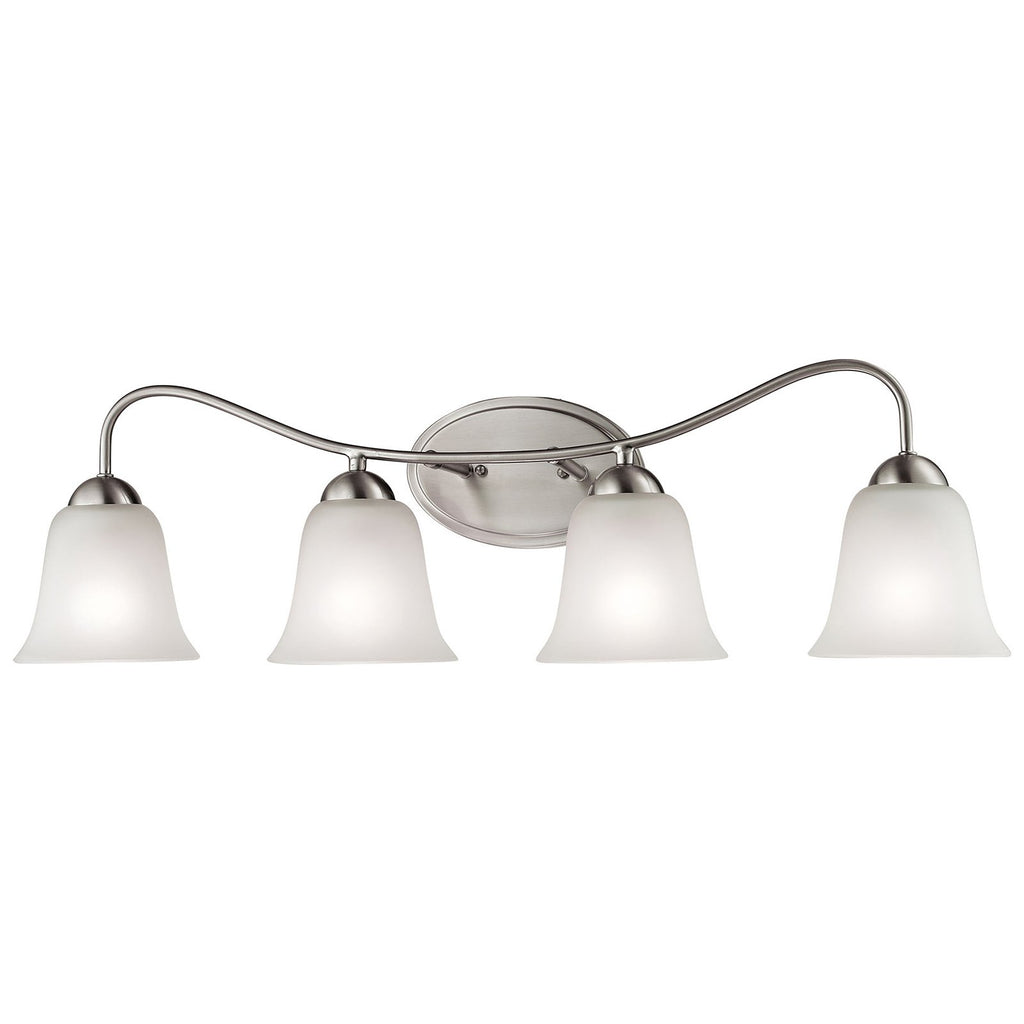 Conway 4-Light LED Vanity in Brushed Nickel