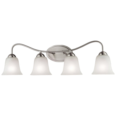Conway 4-Light Vanity in Brushed Nickel