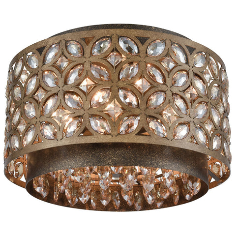 Rosslyn 4-Light Flush Mount