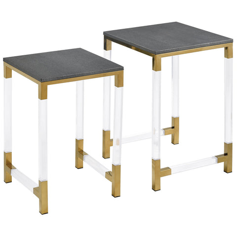 Consulate Nested Tables, Set of 2