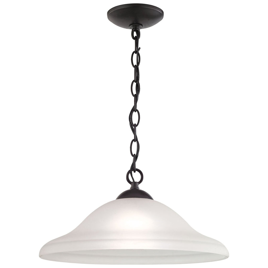 Conway 1-Light Pendant Large in Oil Rubbed Bronze