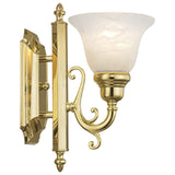 French Regency 1-Light Bath Light