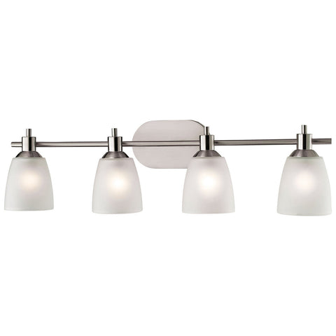 Jackson 4-Light Vanity in Brushed Nickel