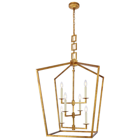 Denmark 6-Light 24-Inch Chandelier