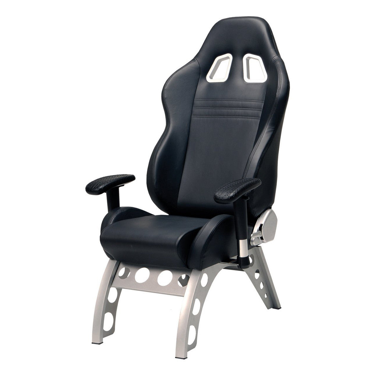 Pitstop Black Gt Receiver Chair Pitstop Furniture Fratantoni
