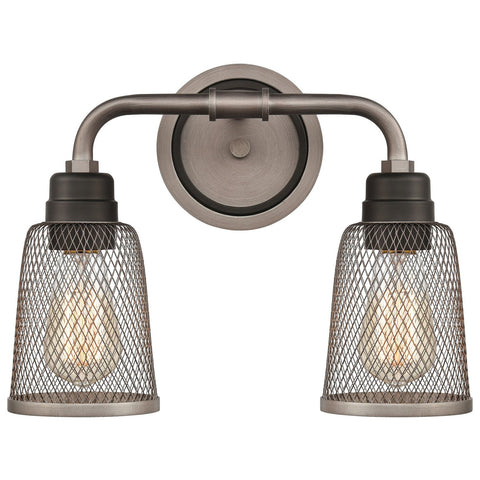 Glencoe 2-Light Vanity Light in Oil Rubbed Bronze