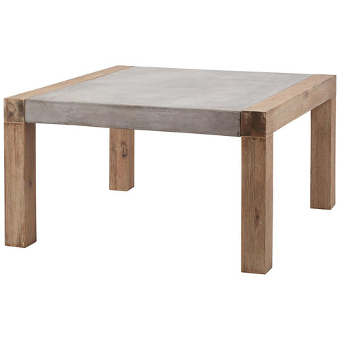 Arctic 31.5-Inch Coffee Table in Atlantic Brushed