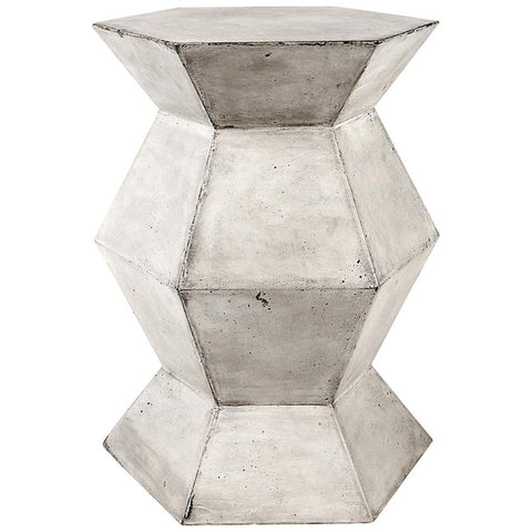 Flanery Accent Table in Polished Concrete
