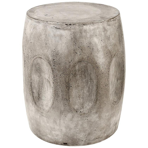 Wotran Stool in Polished Concrete