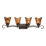 Vetraio 4 Light Bronze Vanity Strip
